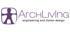 Logo orizzontale Archliving